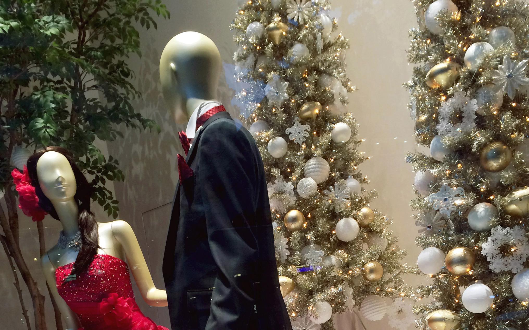 横浜店がクリスマスディスプレイに!